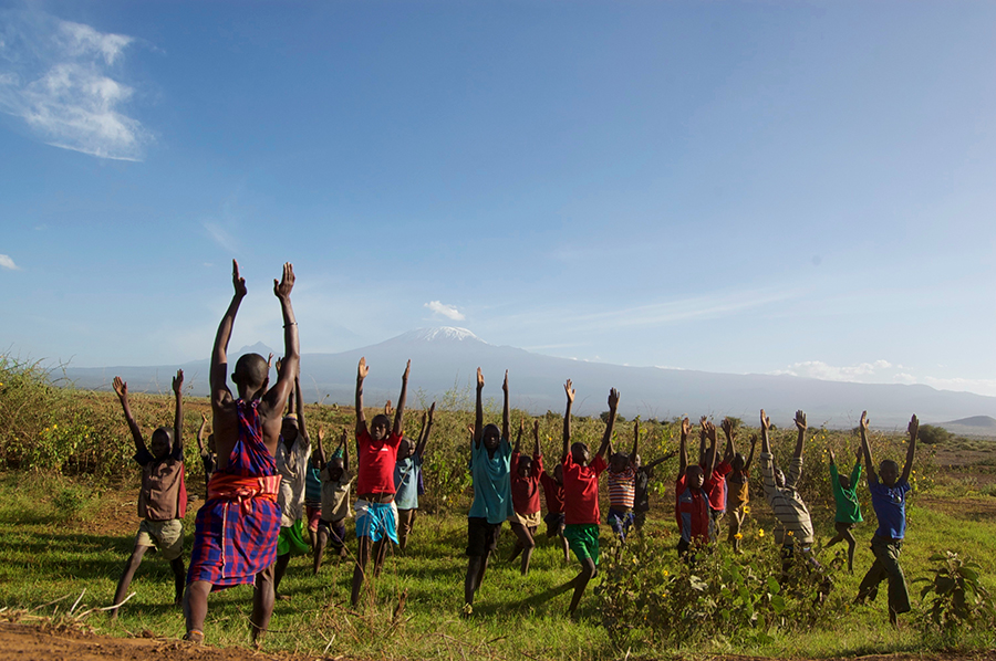 Film Debout - Massaï