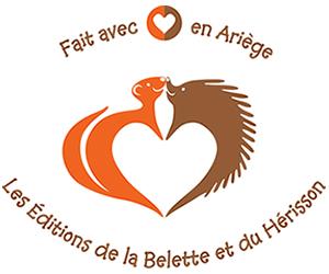 Logo Les Éditions de la Belette et du Hérisson - Ariège 09
