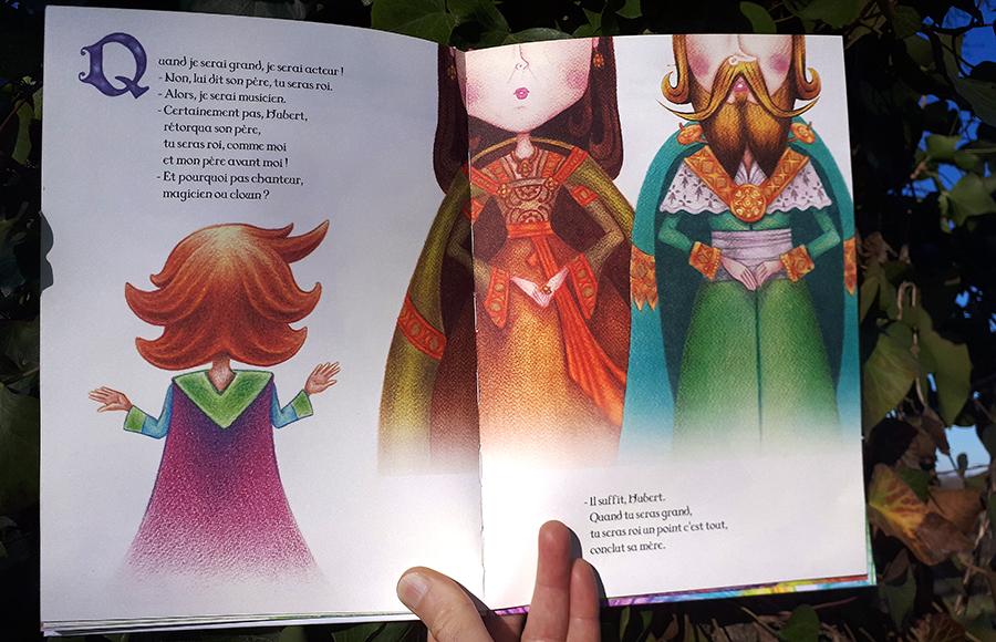 Le Roi très très méchant - Les éditions de la Belette et du Hérisson - pages 22 23